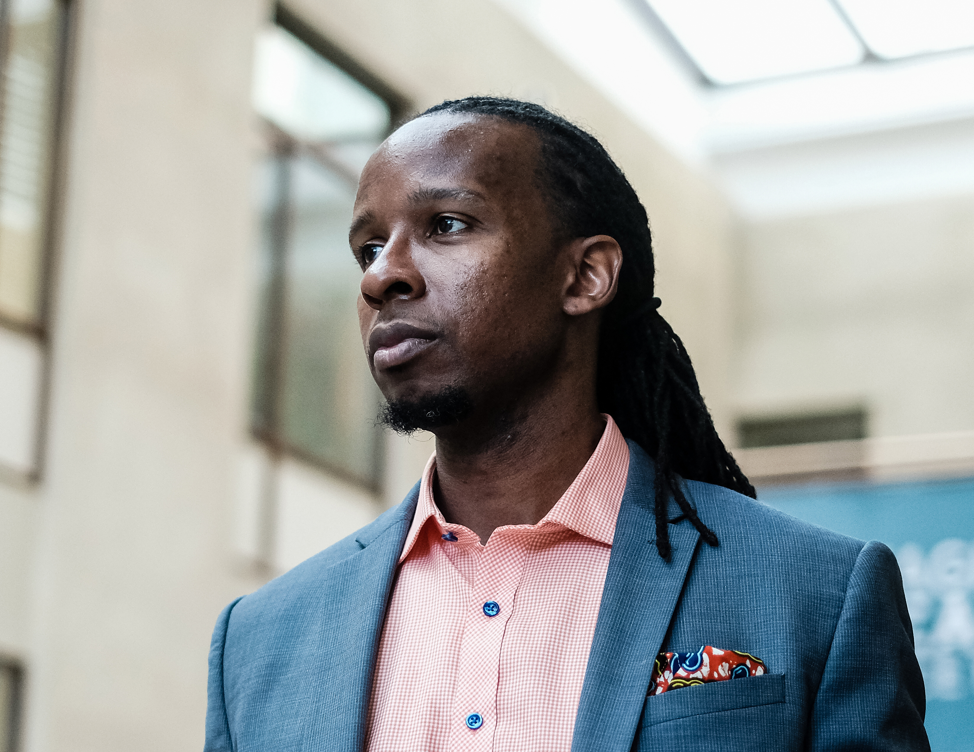 Ibram Kendi is a leading voice among a new generation of American scholars who are reinvestigating - and redefining - racism. MUST CREDIT: Photo for The Washington Post by Michael A. McCoy