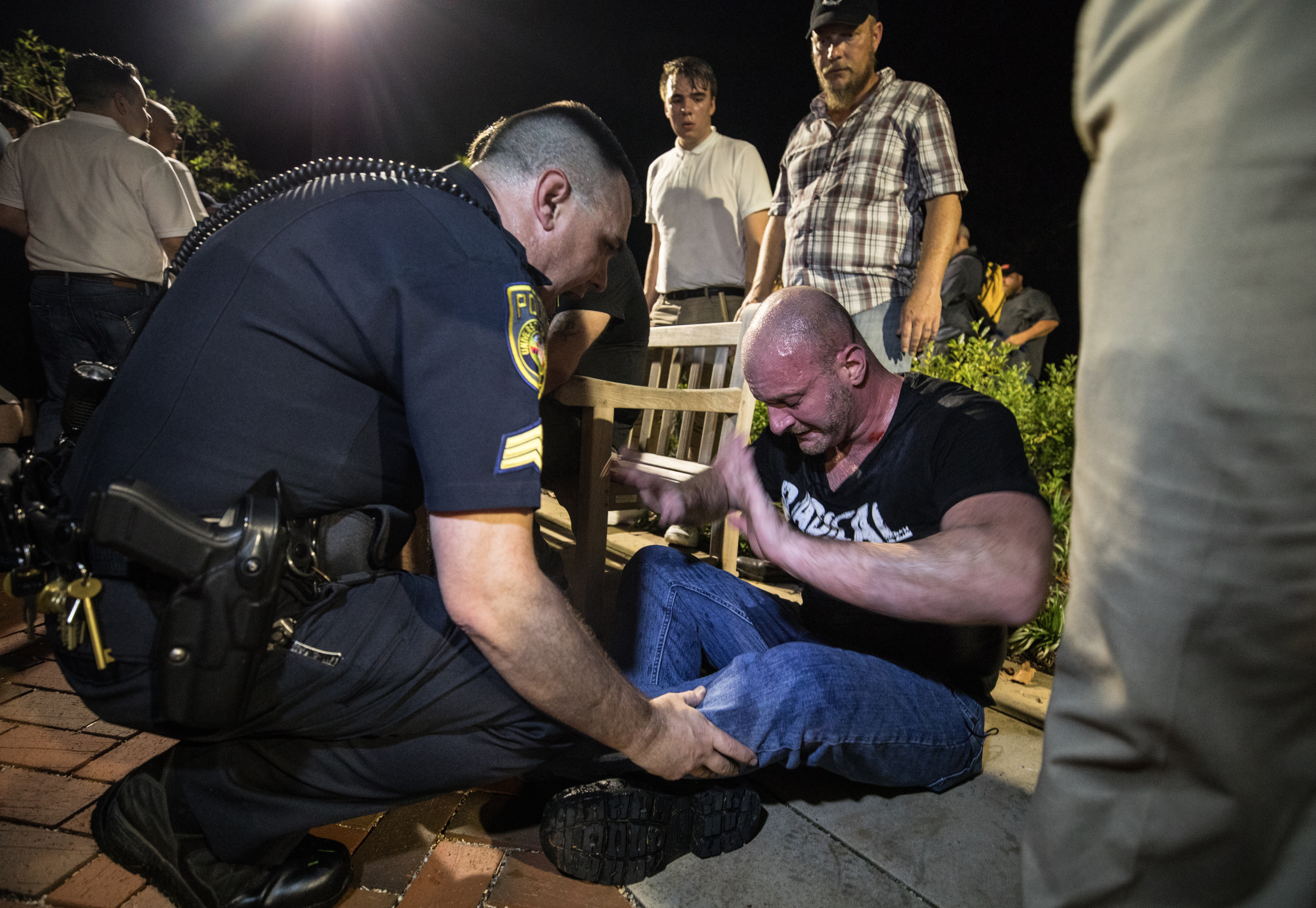 White nationalist Chris Cantwell has had quite the week after being featured prominently in an HBO news program on the march in Charlottesville, Virginia, last weekend. Must credit: Photo by Evelyn Hockstein for The Washington Post