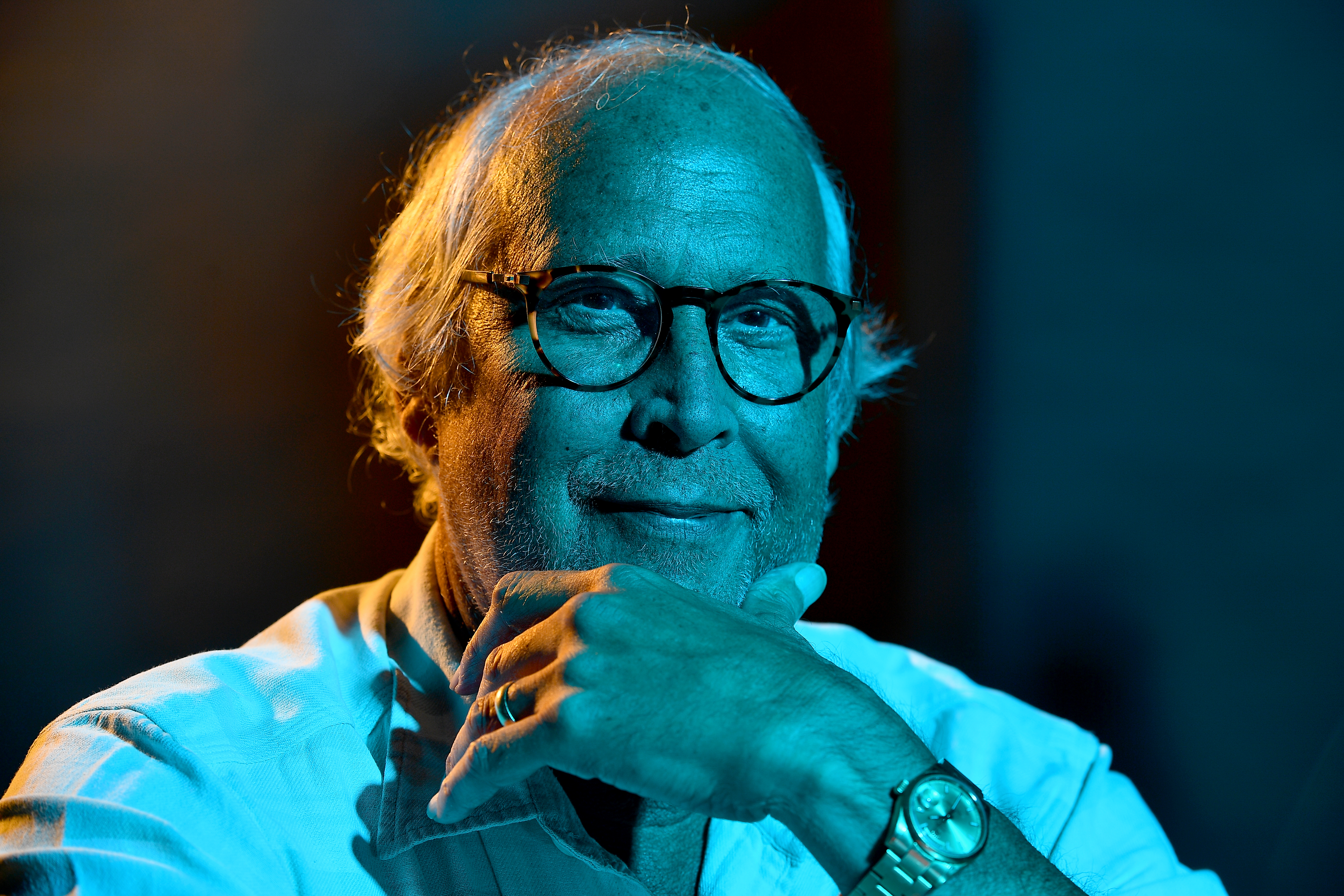 Chevy Chase on Sept. 7, 2018, in Bedford, New York. MUST CREDIT: Washington Post photo by Marvin Joseph