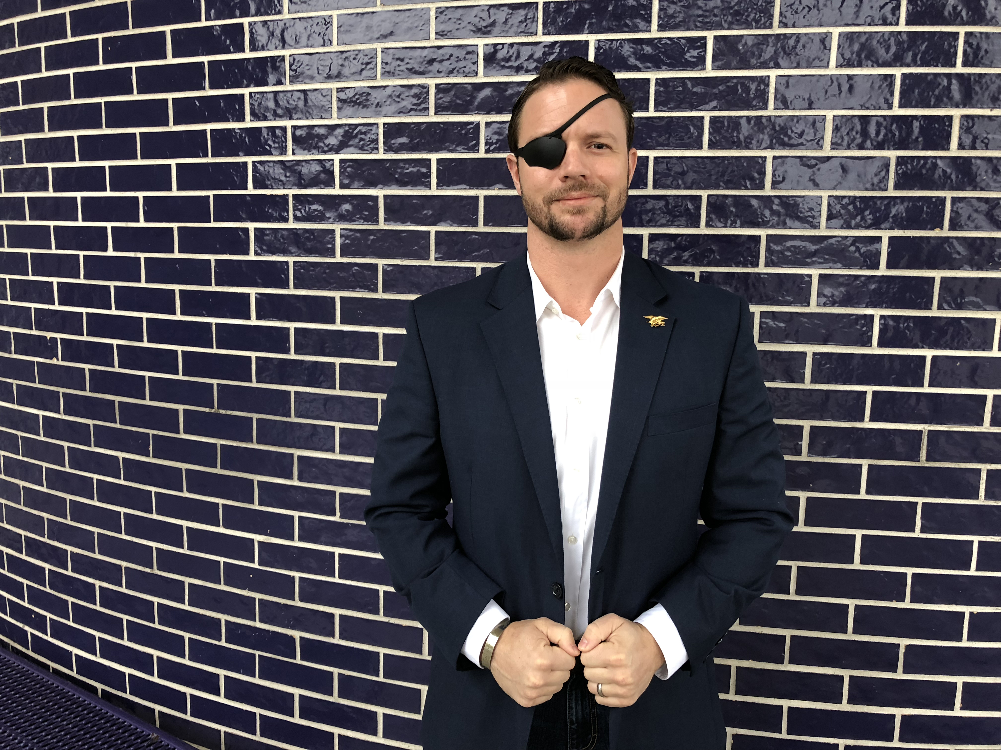 Dan Crenshaw, a former Navy SEAL, was elected to Congress from the Houston area after running for office for the first time.