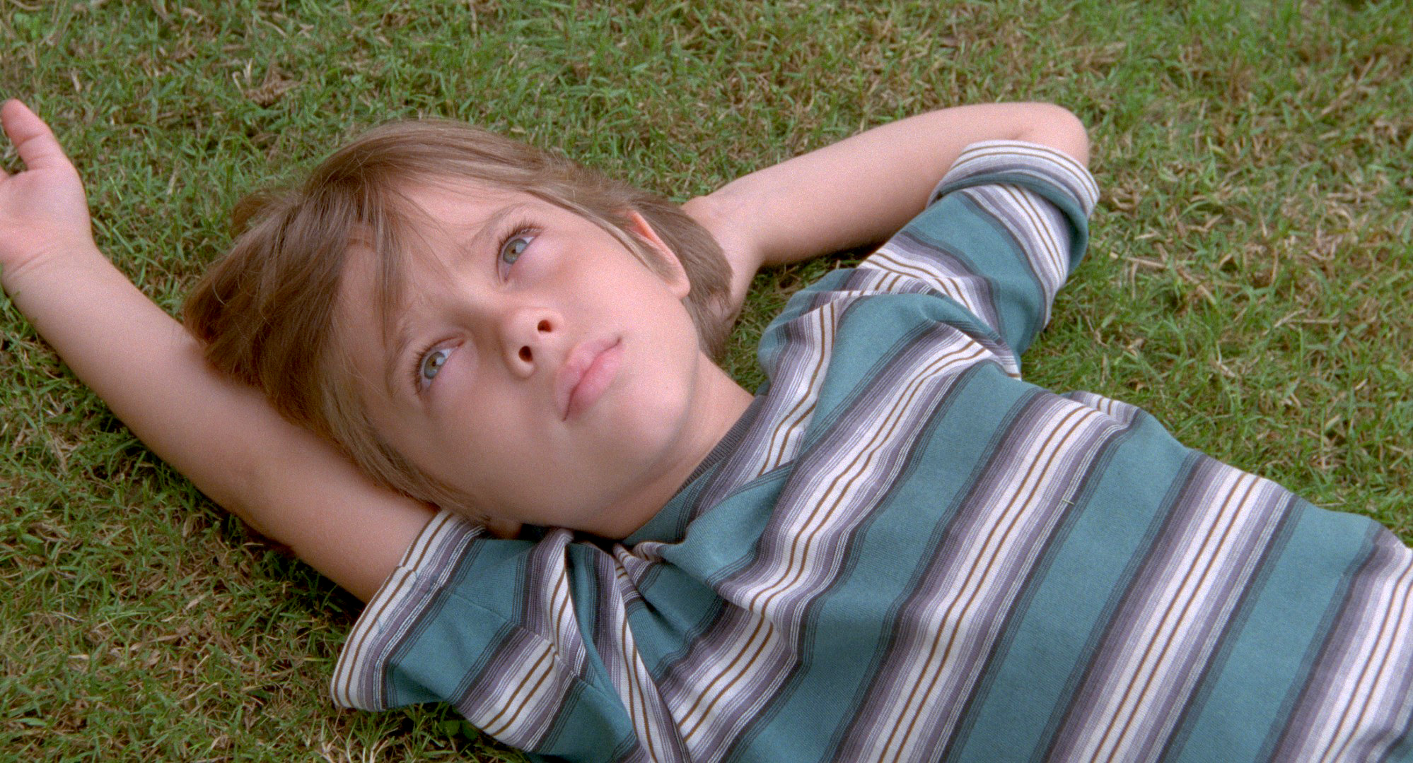 Six-year-old Mason, played by Ellar Coltrane, in Richard Linklater's
