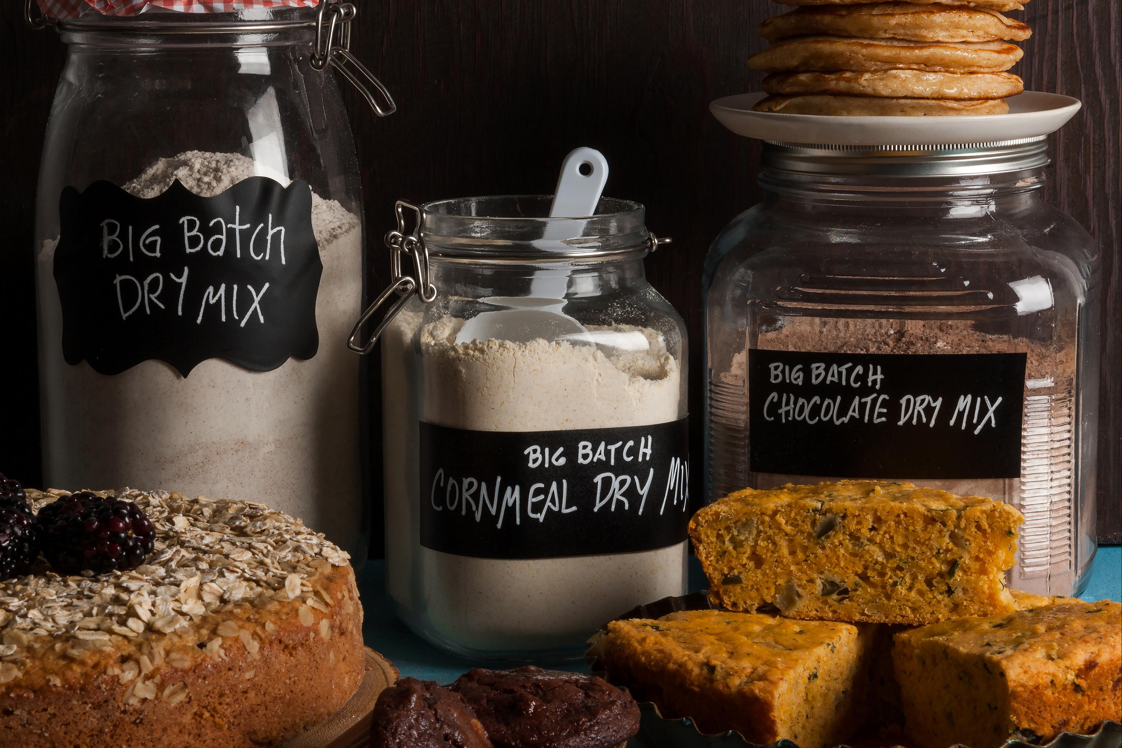 Oh, the places you can go with these three DIY baking mixes. MUST CREDIT: Photo by Goran Kosanovic for The Washington Post.