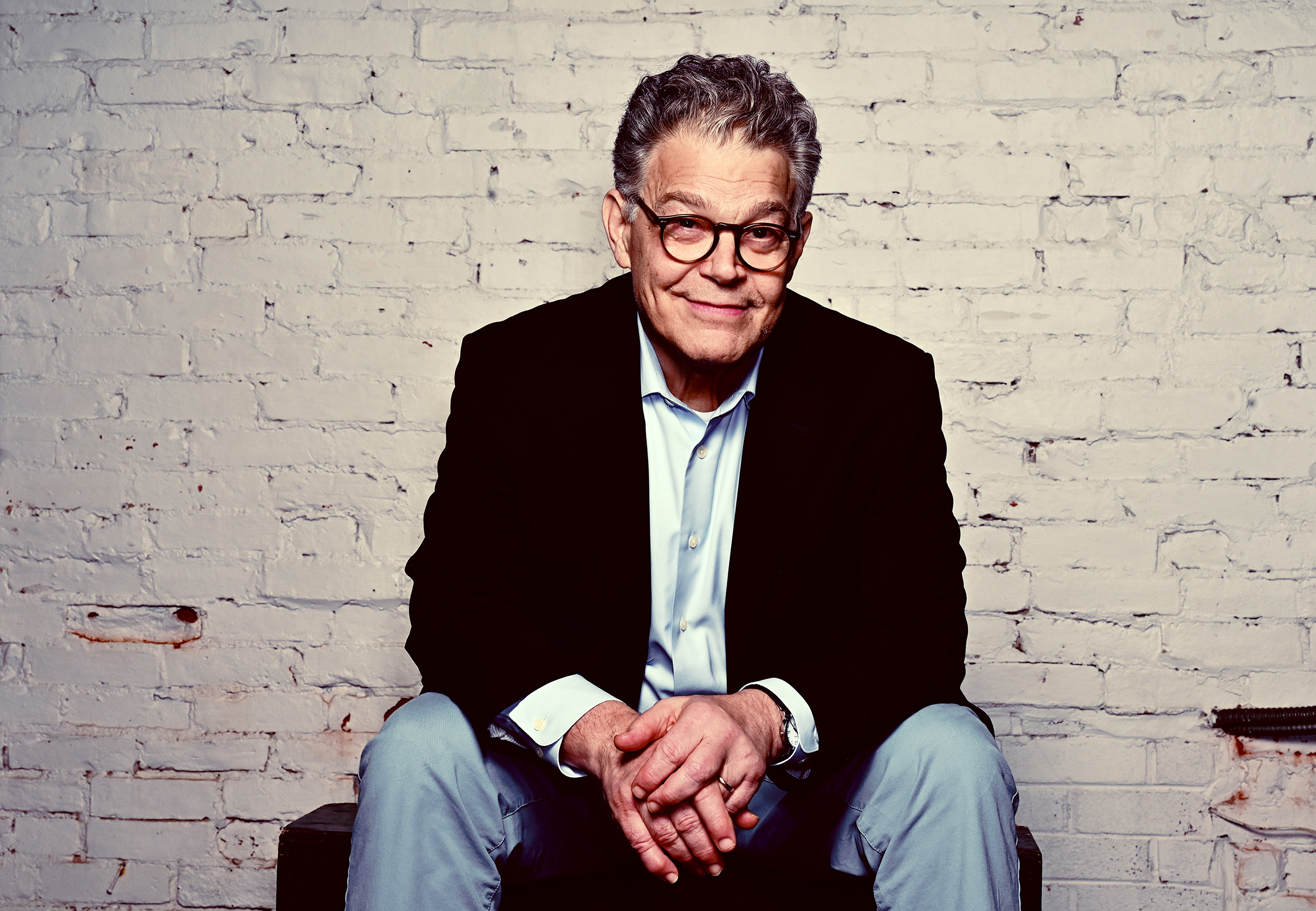 Former senator Al Franken kicked off his 15-city standup tour Saturday at the Academy of Music in Northampton, Mass. MUST CREDIT: Washington Post photo by Marvin Joseph