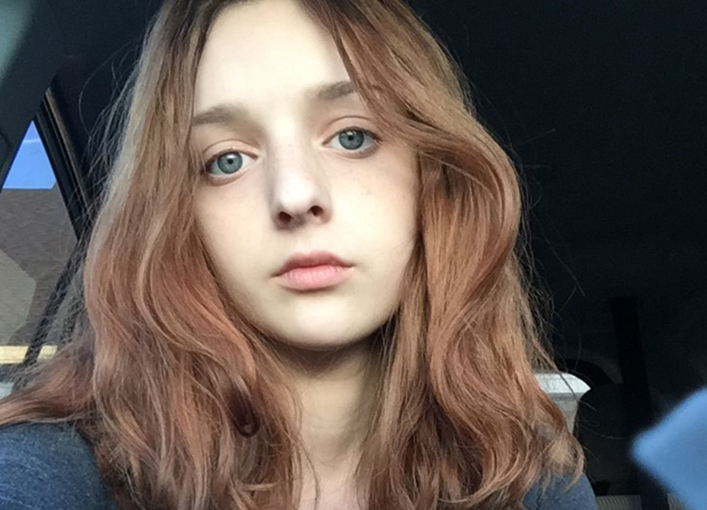 Ana Dooley in a selfie at age 14. She died of cancer at 15 in March 2017. MUST CREDIT: Courtesy of Jacqueline Dooley