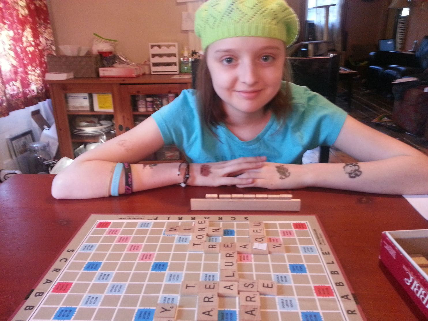Ana at age 11.