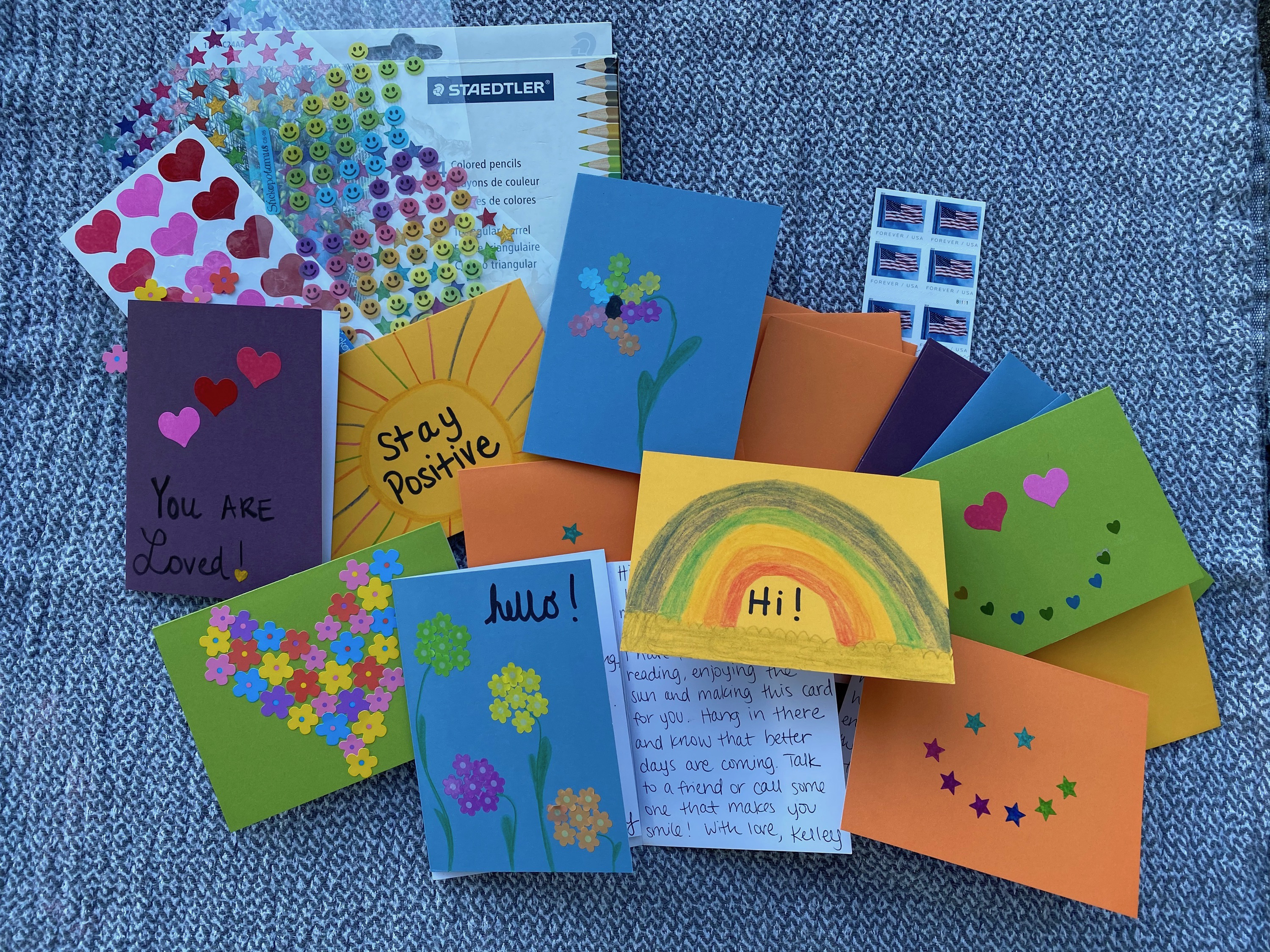 Two sisters wanted to lift lonely seniors' spirits. Their organization has sent 14,000 letters