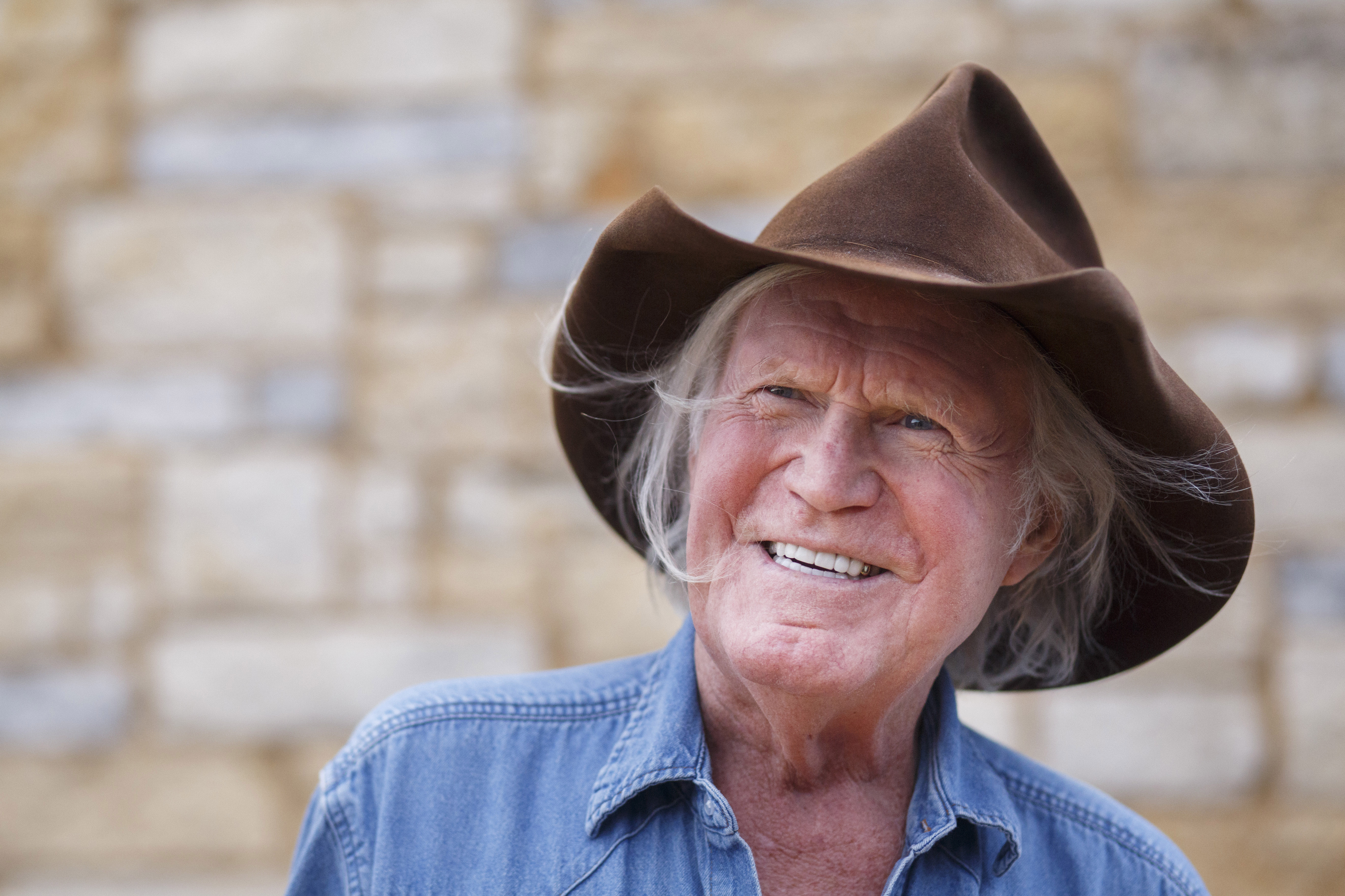 Billy Joe Shaver, who died Wednesday at 81, was considered the father of outlaw country music. MUST CREDIT: Photo for The Washington Post by Michael Stravato