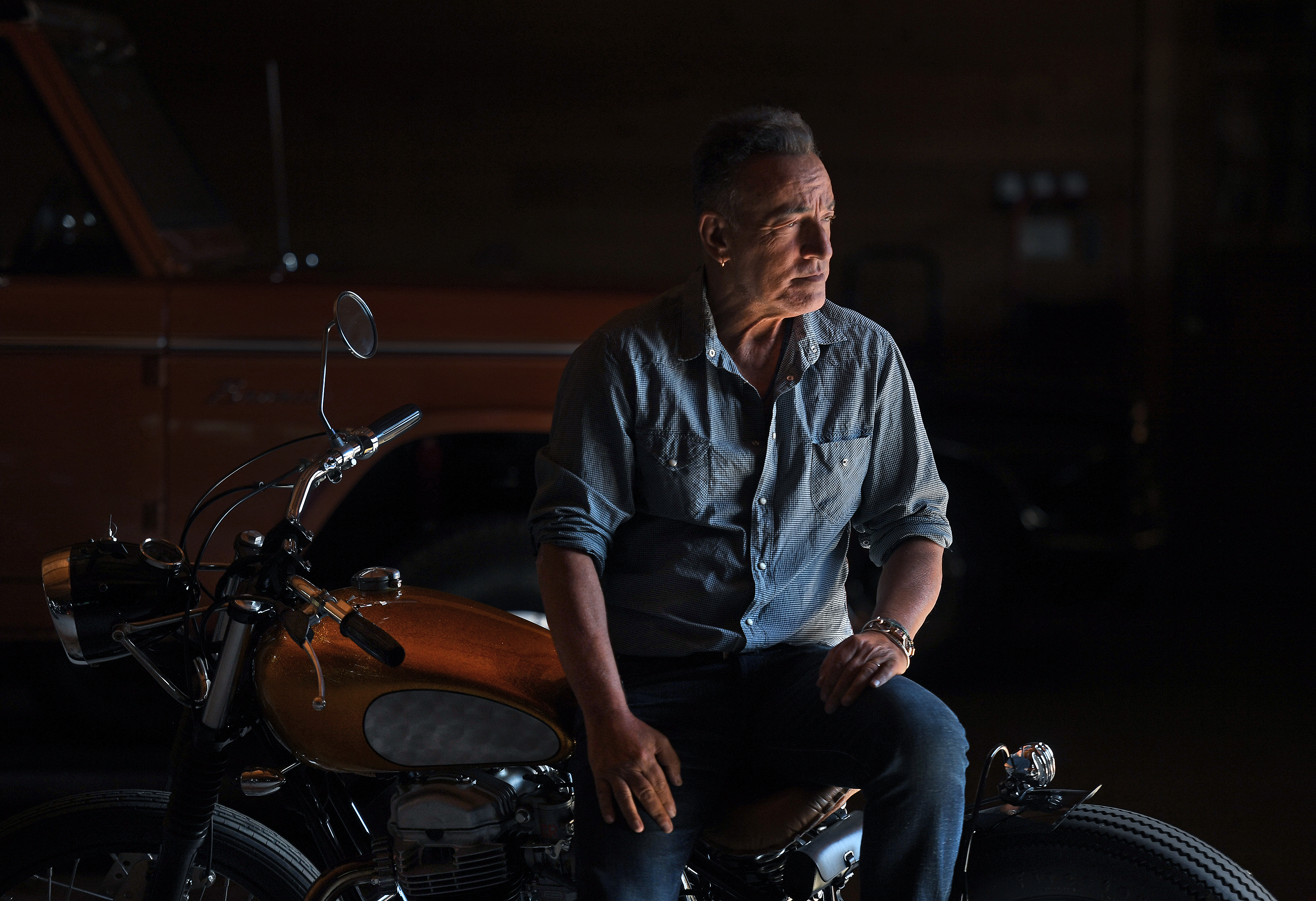 Bruce Springsteen at his home in Monmouth County, N.J., in September. Springsteen co-directed