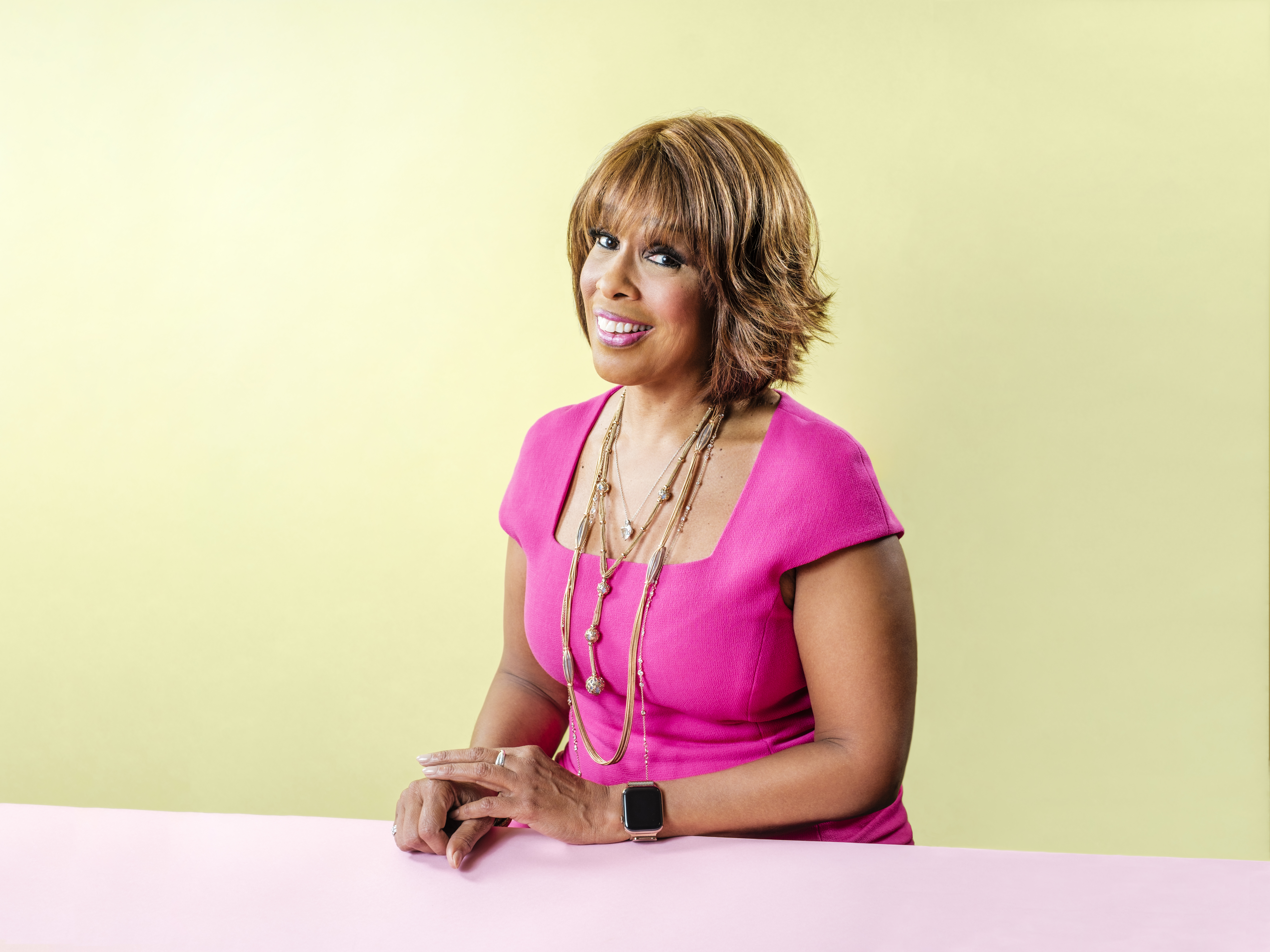 Gayle King, host of