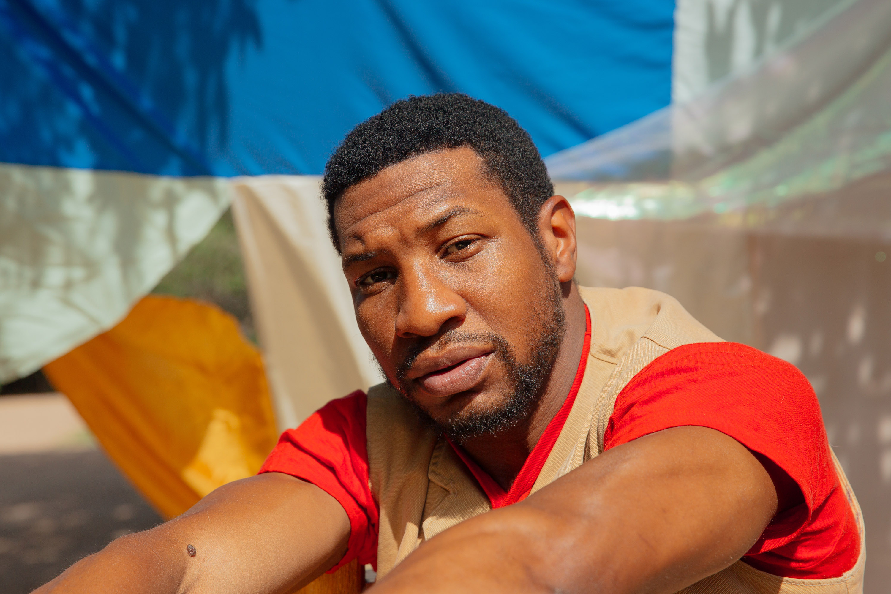Actor Jonathan Majors is quickly becoming that guy you can't stop seeing in ... well, everything. MUST CREDIT: Photo for The Washington Post by Mary Mathis