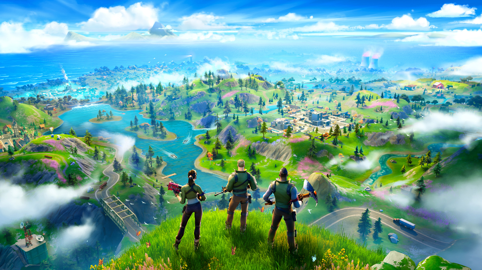 Fortnite' emerges from black hole with all-new island - Chicago Tribune