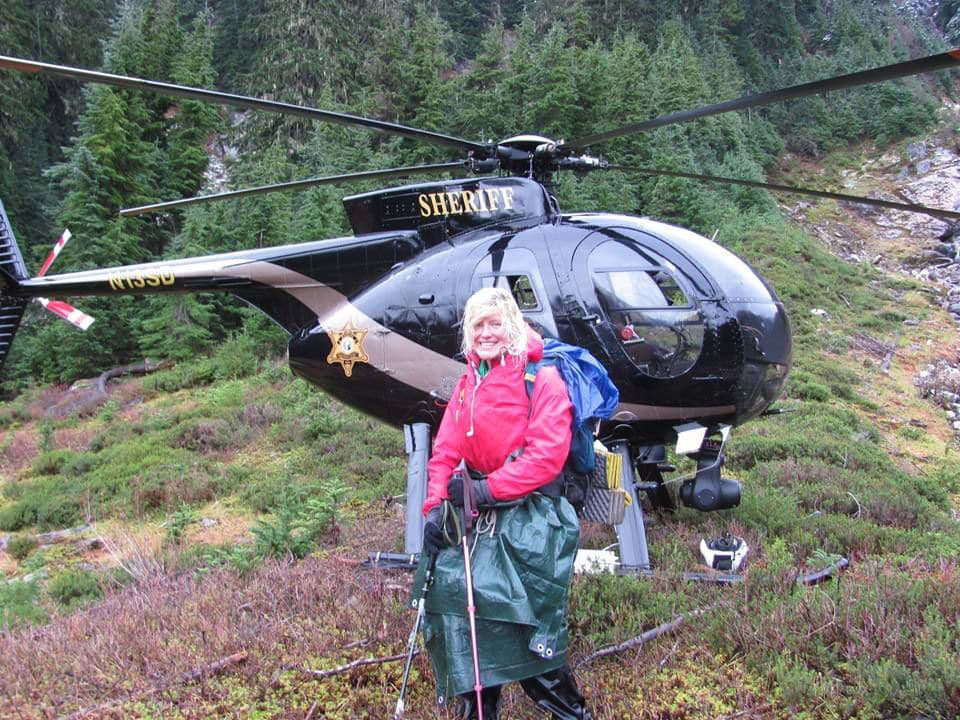 A German hiker thought she would die in a snowstorm. But a stranger was looking out for her